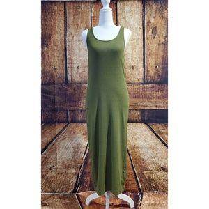 Army Green Tank Maxi Dress - NWOT